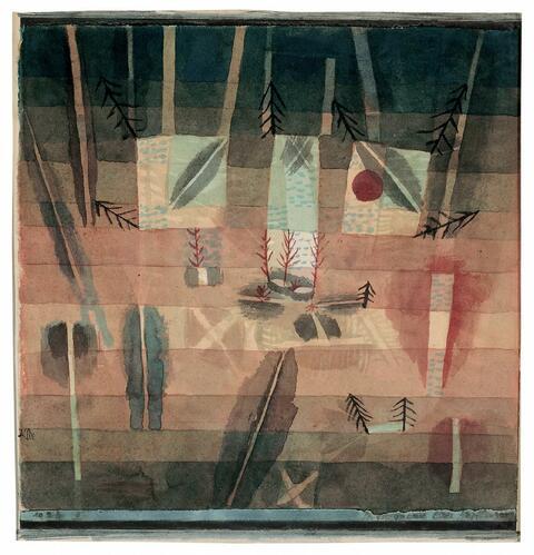 Paul Klee - Physiognomie einer Anpflanzung. 1924.9