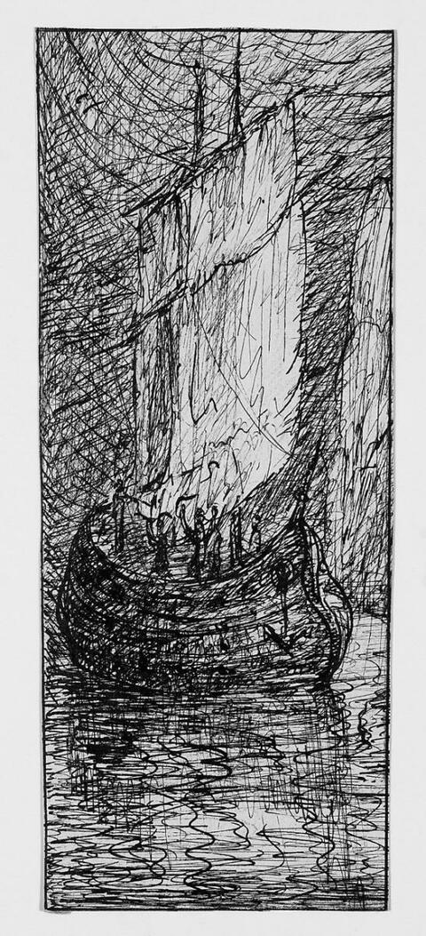 Alfred Kubin - Seeräuberschiff