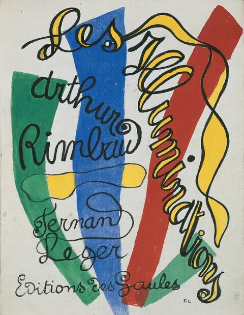 Fernand Léger - Arthur Rimbaud. Les Illuminations. Lithographies originales de Fernand Léger. Préface de Henry Miller