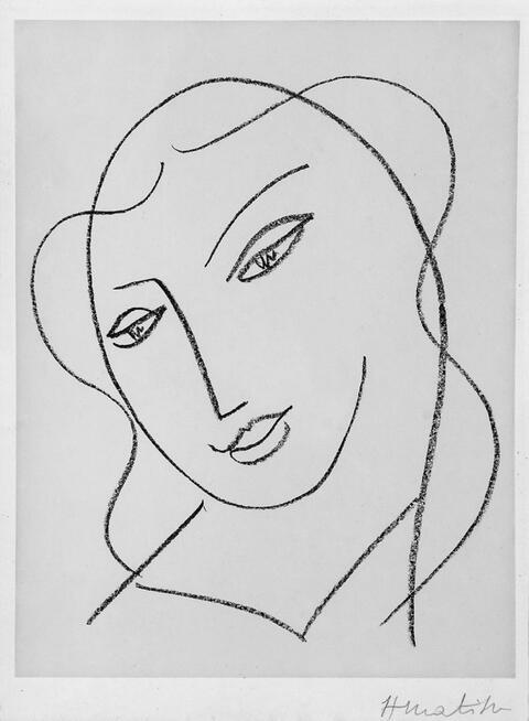 Henri Matisse - Tête Voilée