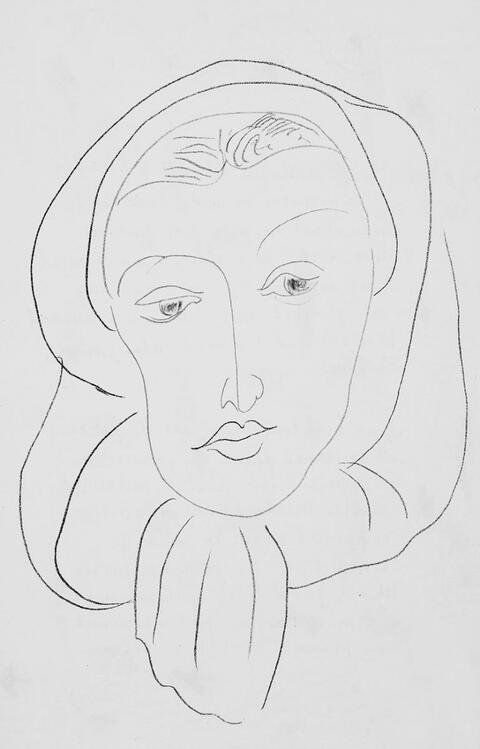 Henri Matisse - Poèmes de Charles d'Orléans