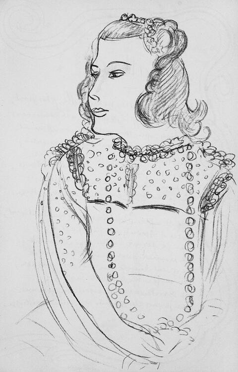Nach Henri Matisse - Matisse. Verve, Vol. IX, 35/36