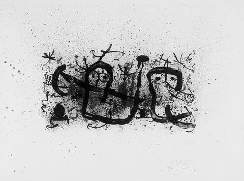 Joan Miró - Aus: ma de proverbis