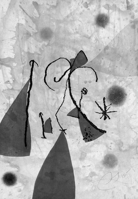 Joan Miró - aus: Passage de L'Égyptienne