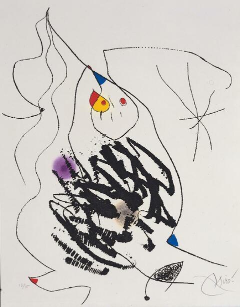 Joan Miró - Journal d'un Graveur II