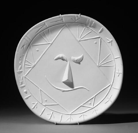 Pablo Picasso - Visage géometrique