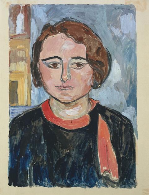 Hans Purrmann - Bildnis Tochter Regina