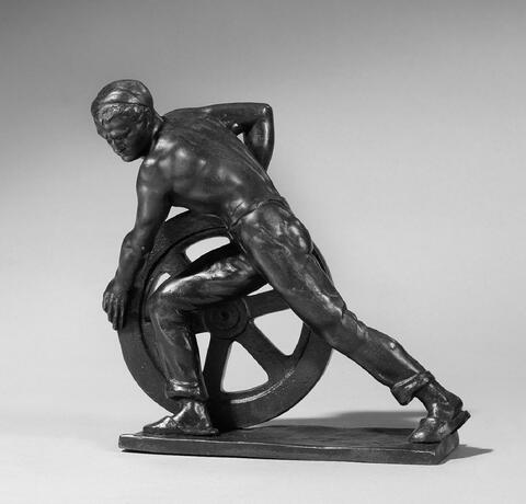 Ernst Seger - Schmied mit Rad
