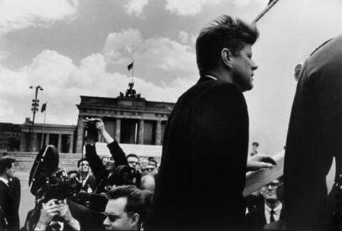 Will McBride - John F. Kennedy