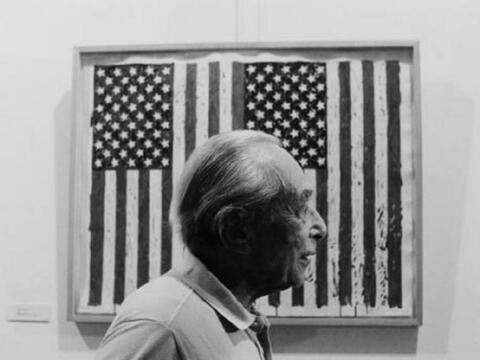 Will McBride - Leo Castelli in Arles zur Ausstellung von Jasper Johns
