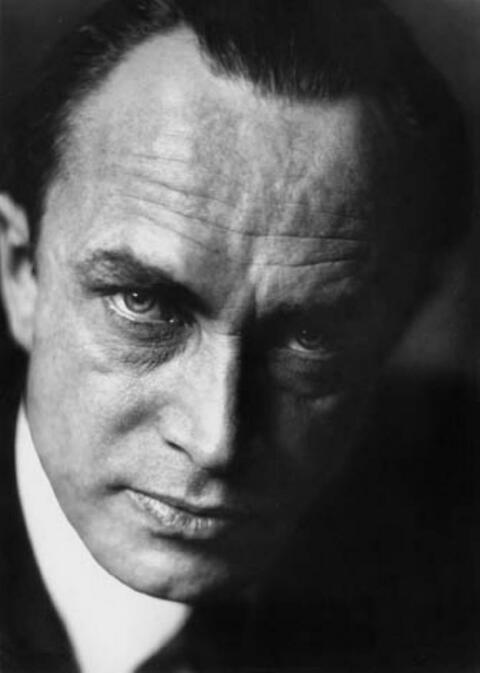 Trude Fleischmann - Portrait Konrad Veidt