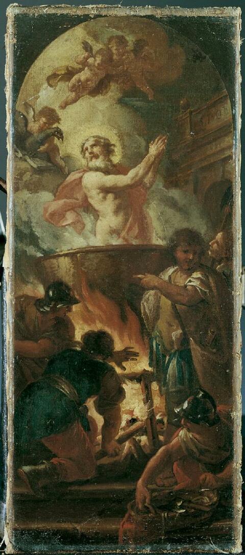 Luca Giordano, Umkreis - DAS MARTYRIUM DES HL. VITUS.