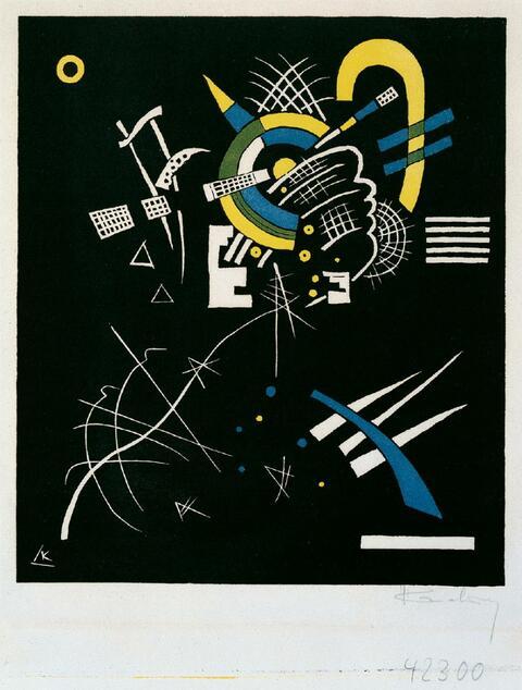 Wassily Kandinsky - Kleine Welten VII