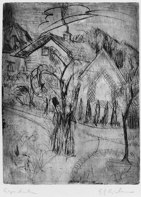 Ernst Ludwig Kirchner - Park Königstein