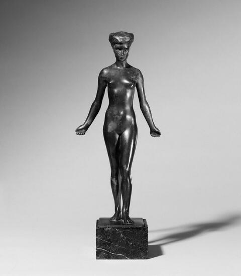 Fritz Klimsch - Statuette Niny Weiss