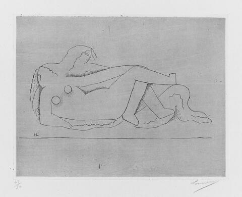 Henri Laurens - Deux femmes