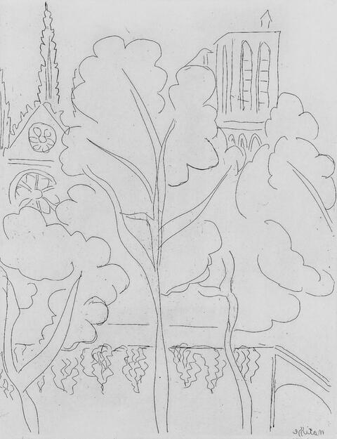 Henri Matisse - La Cité - Notre-Dame