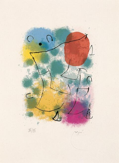 Joan Miró - Hommage à Rimbaud