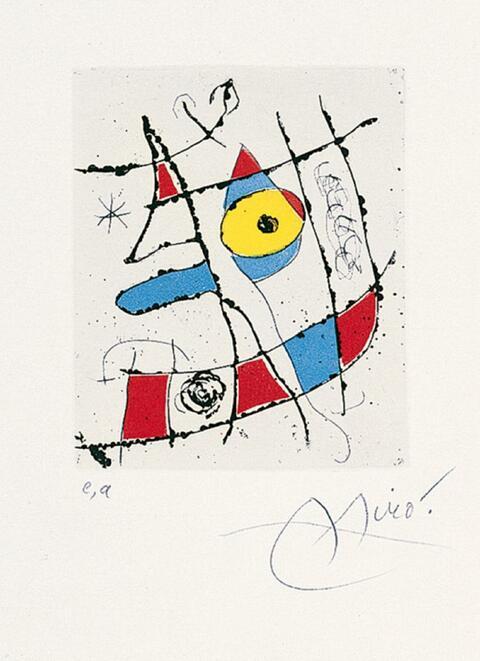 Joan Miró - zu: El Innocente