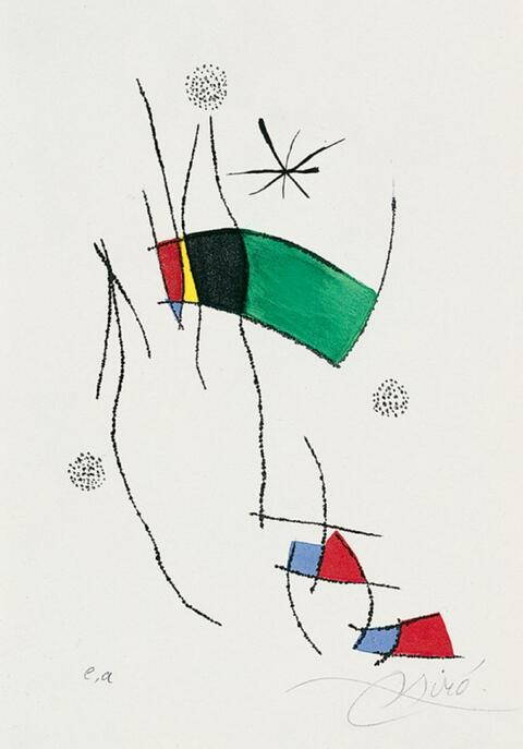 Joan Miró - zu: La Spirale