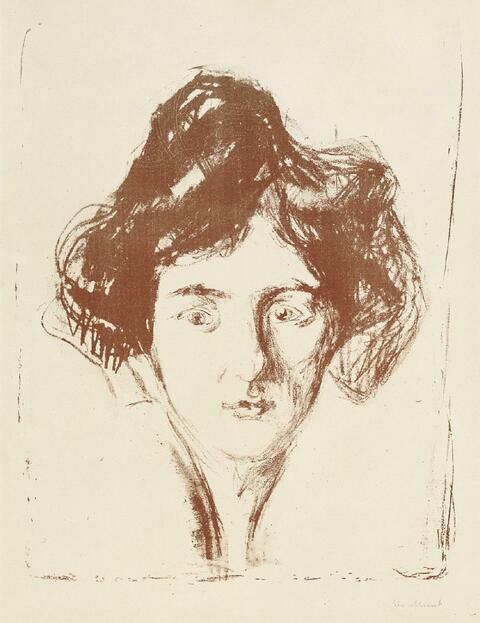 Edvard Munch - Berliner Modell