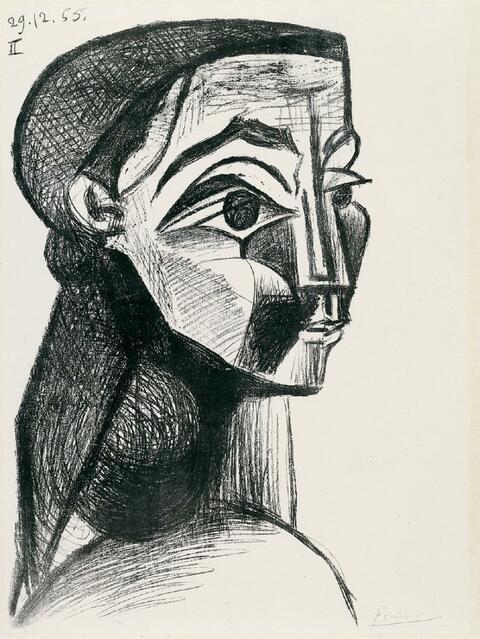 Pablo Picasso - Portrait de Femme II