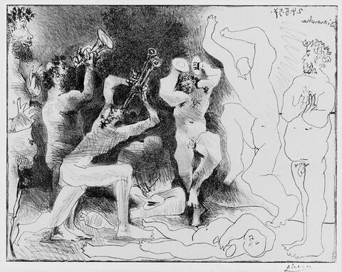 Pablo Picasso - La Dance des Faunes
