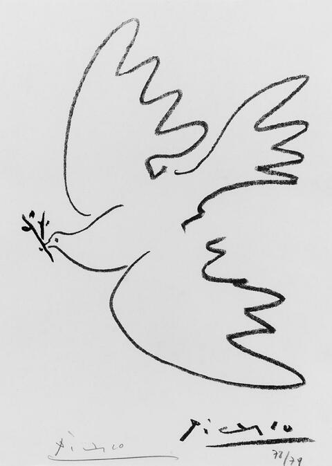 Pablo Picasso - André Verdet. Pour un nouveau Printemps de Pablo Picasso