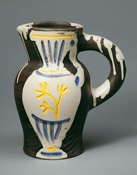 Pablo Picasso - Pichet au vase