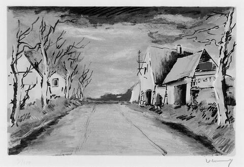 Maurice de Vlaminck - La Route