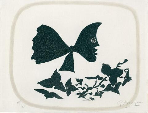 Georges Braque - Août: Frontispiz