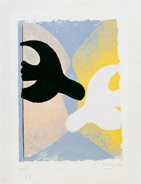 Georges Braque - Résurrection de l'Oiseau