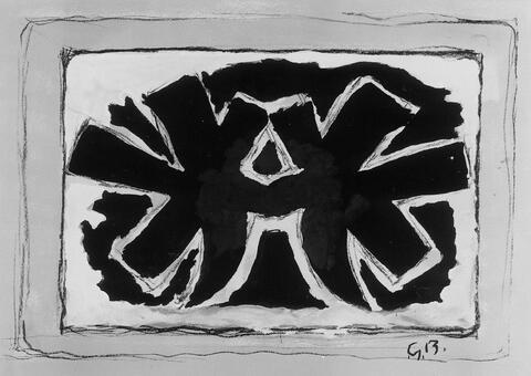 Georges Braque - Pour St. Gallen