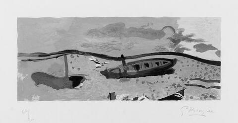 Nach Georges Braque - Bord de mer