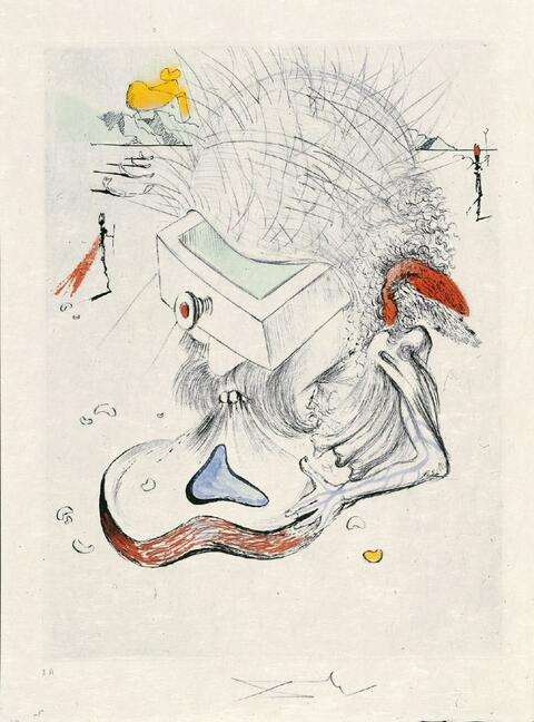 Salvador Dali Y Domenech - Poèmes secrets d'Apollinaire