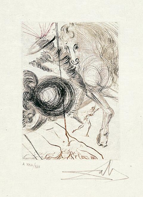 Salvador Dali Y Domenech - Le Décameron