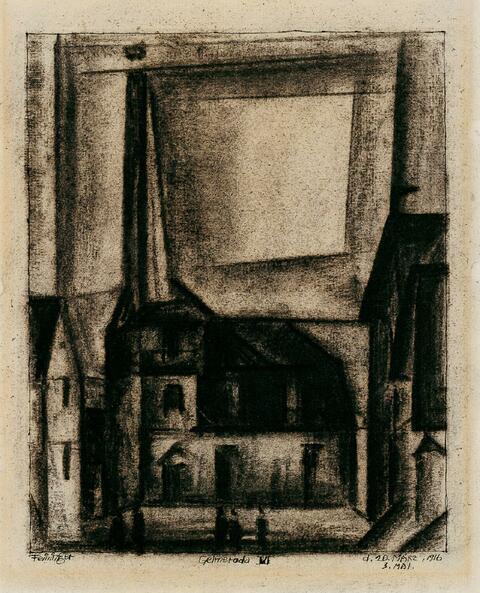 Lyonel Feininger - Gelmeroda VI