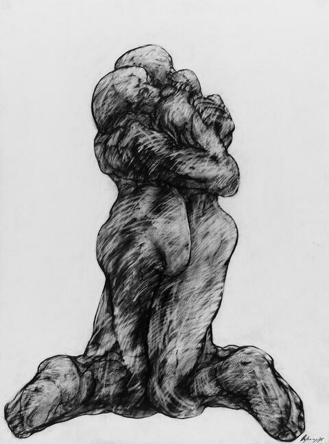 Rudolf Hoflehner - Ohne Titel (Paar)