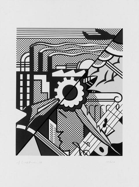 Roy Lichtenstein - Industry and the Arts (II)