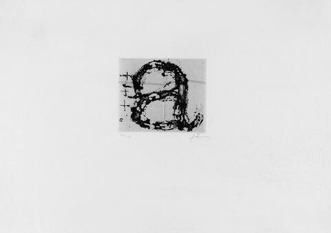 Antoni Tàpies - Ohne Titel