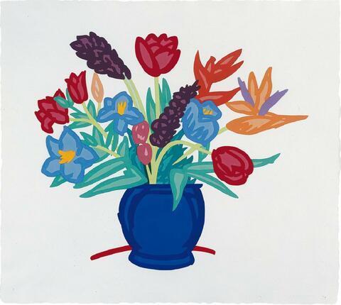 Tom Wesselmann - Bouquet