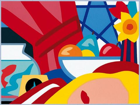 Tom Wesselmann - Study for Still Life with Blonde