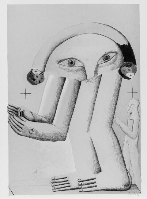 Horst Antes - Figur München 1972-1972