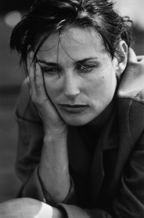 Peter Lindbergh - Demi Moore (for Donna Karan)