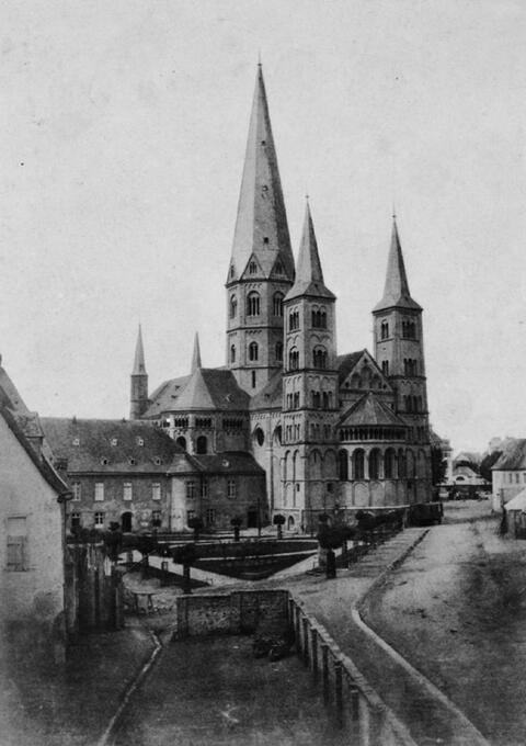 Charles Marville - Le Munster Cathédrale de Bonn