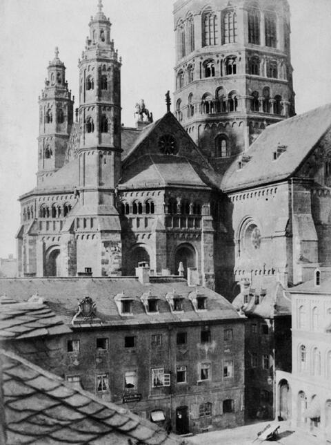 Charles Marville - Cathédrale de Mayence