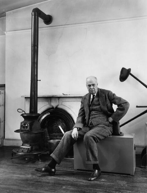 Berenice Abbott - Edward Hopper