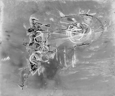 Chargesheimer (Karl Hargesheimer) - Submarin 4 (Gelatinesilbermalerei)