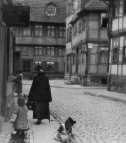 Franz Fiedler - Ohne Titel (Straßenszene)