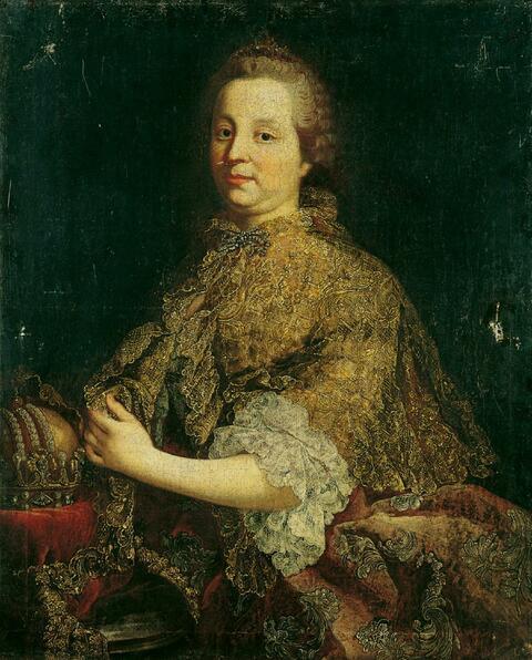 Martin van Meytens, Werkstatt - BILDNISSE DER KAISERIN MARIA THERESIA UND IHRES GEMAHLS KAISER FRANZ I.